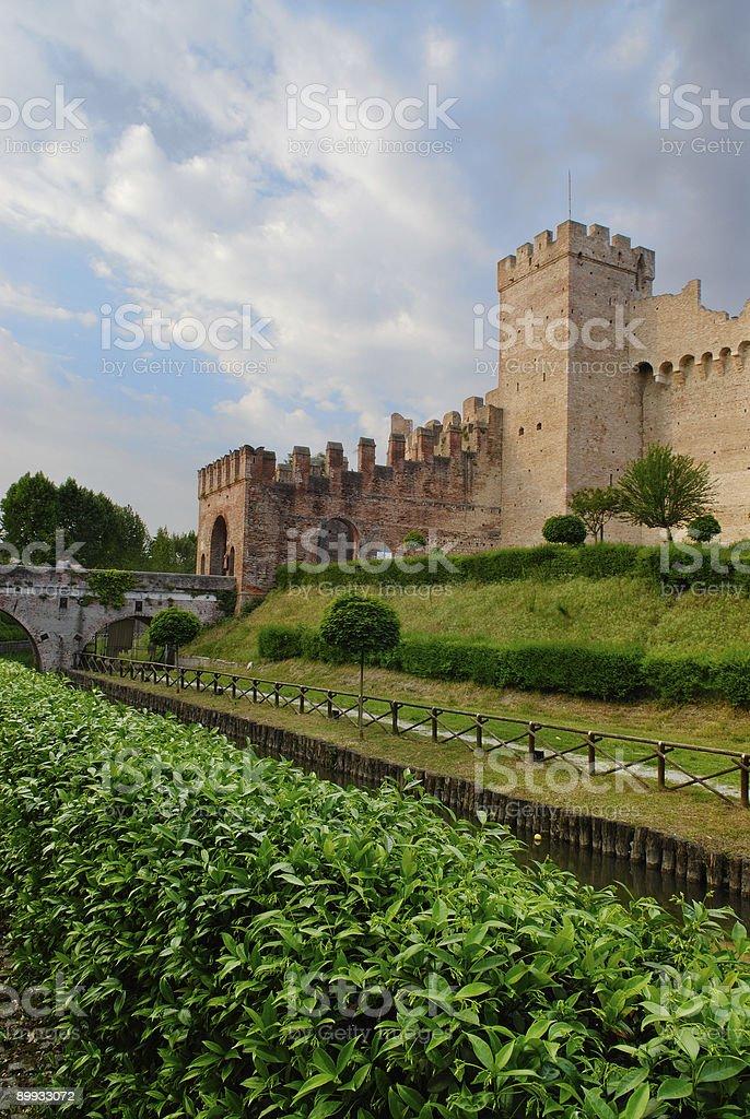 Cittadella City Walls (Italy) stock photo