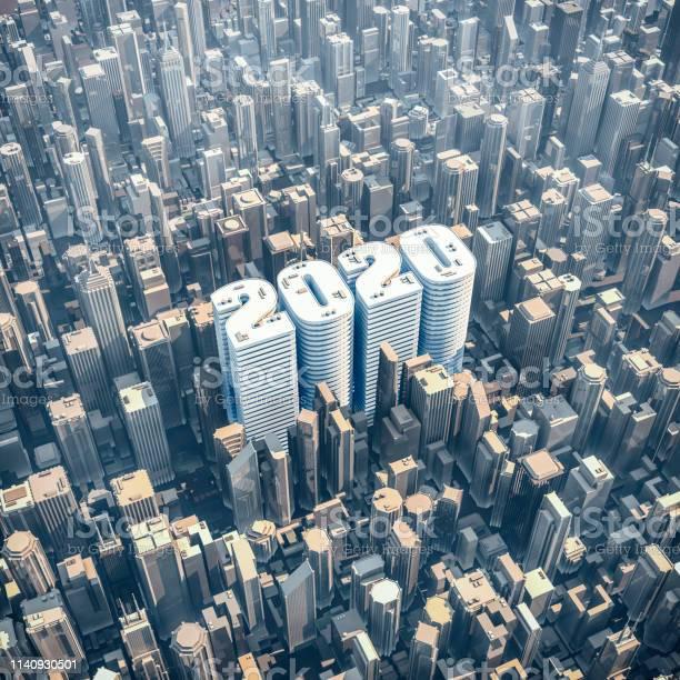City 2020 concept