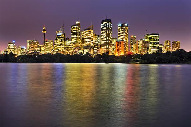 rbg city 32 mm reflect lights - rbg stok fotoğraflar ve resimler