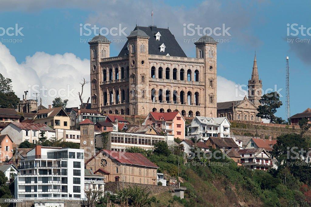 Rova de Antananarivo ville et Royal Palace, complexe de Madagascar - Photo