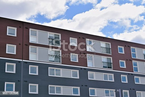 istock City Apartment Complex Modern Residential Building Exterior 955100398