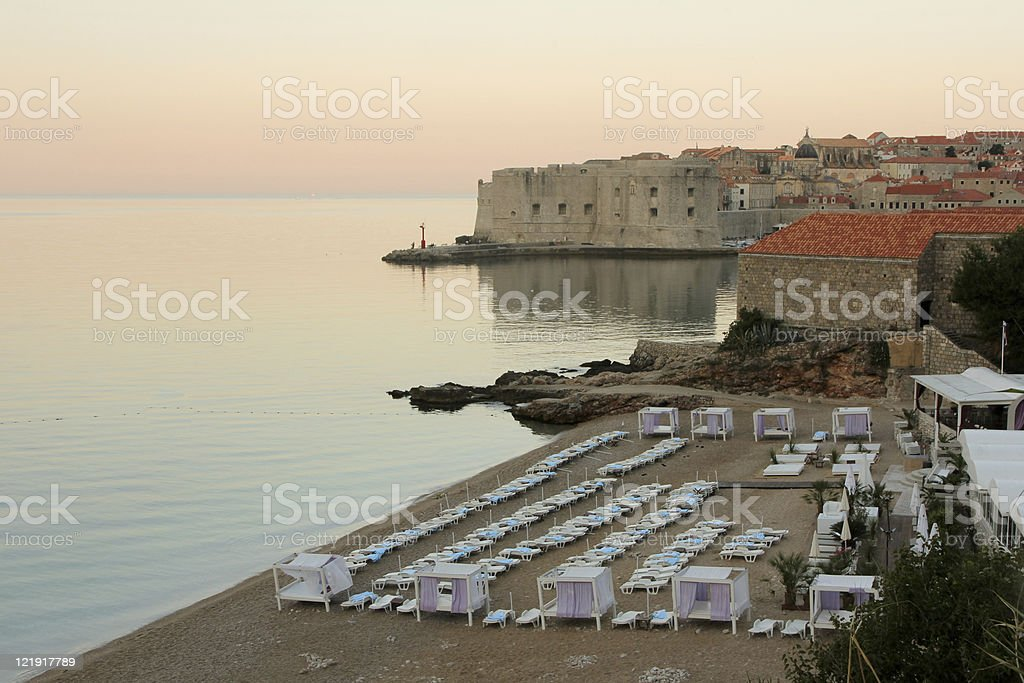 City Beach in Dubrovnik, Kroatien – Foto