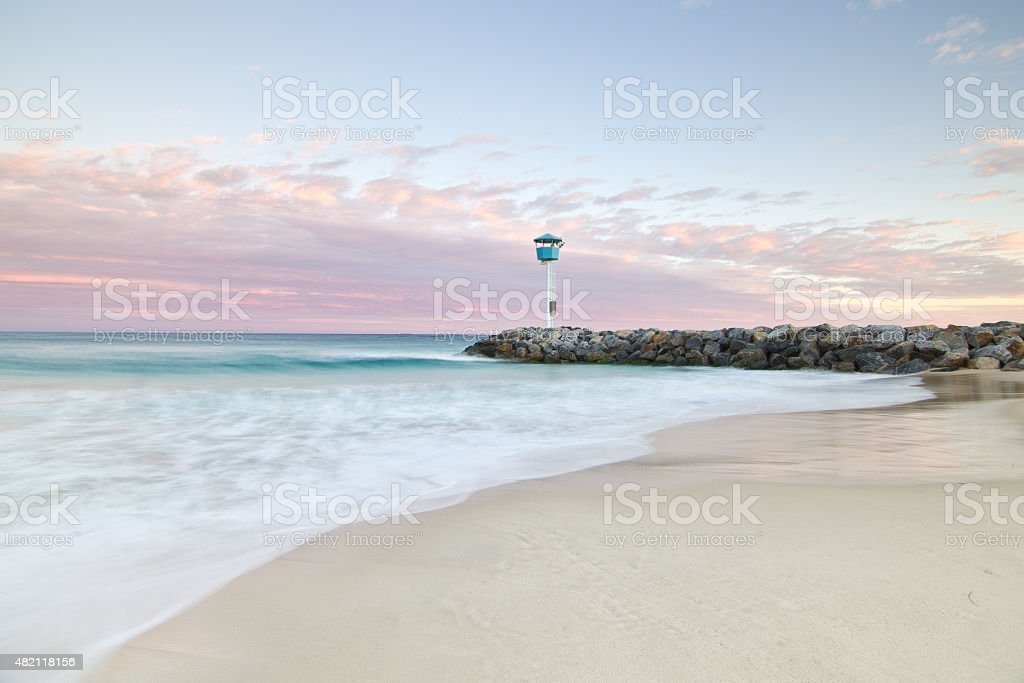City Beach, Perth, Western Australia stock photo