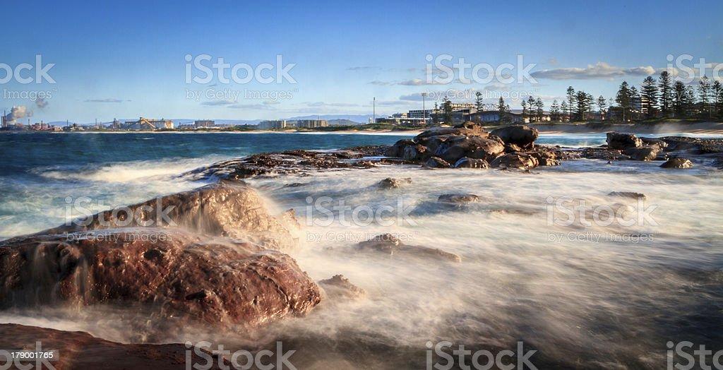 City Beach royalty-free stock photo