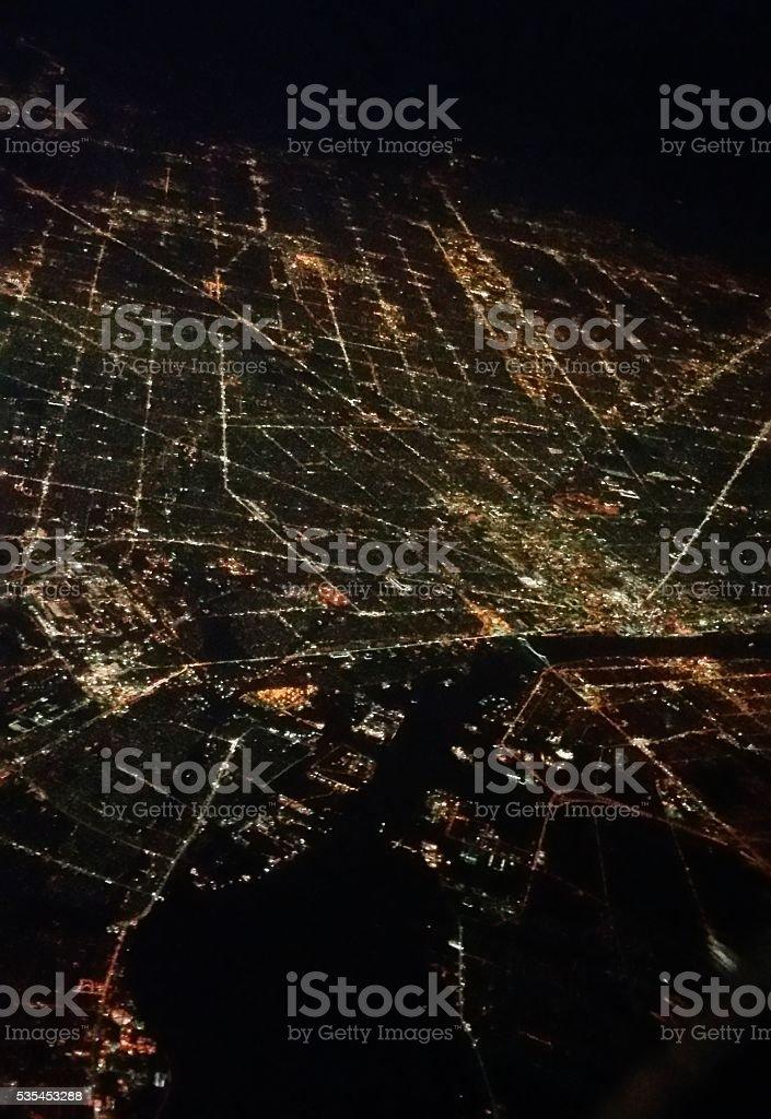 City Below stock photo
