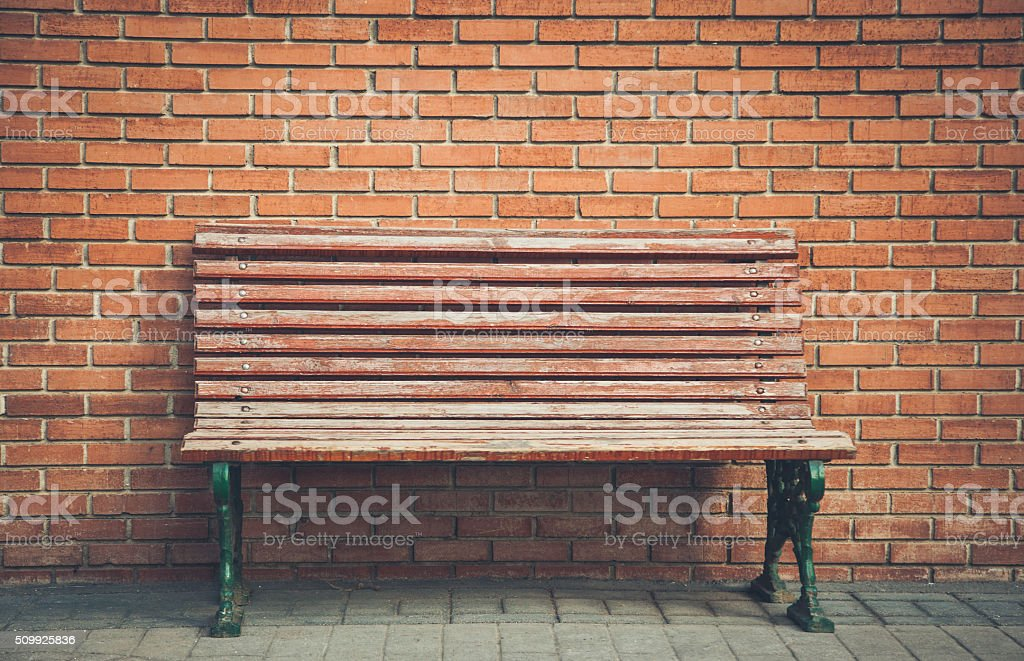 City Bench Stock Photo - Download Image Now - iStock