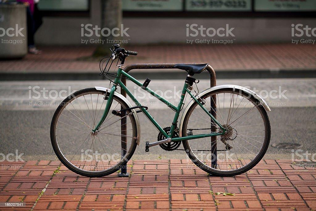 City Bicycle stock photo