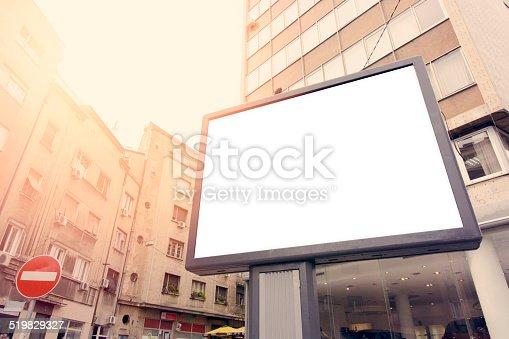 158172107 istock photo City billboard 519829327
