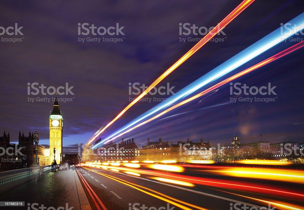 City blur royalty-free stock photo