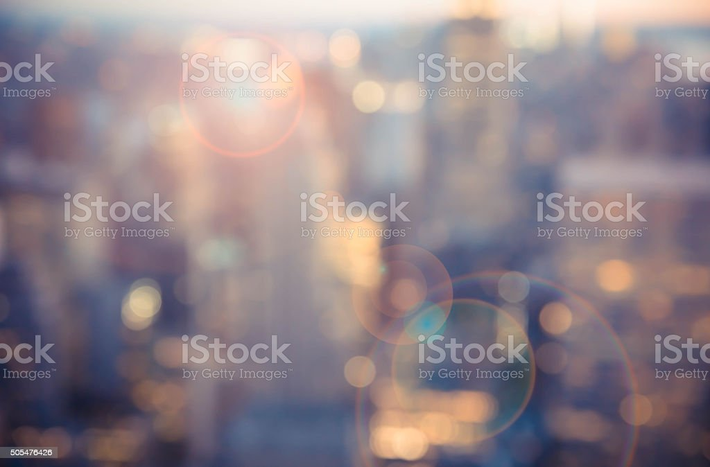 City Blur royalty-free stock photo