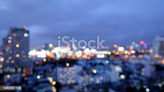 istock City blurred lights background after sunset 1083391106