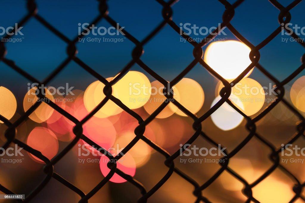 Stad Bokeh Manhattan New York - Royalty-free Abstract Stockfoto