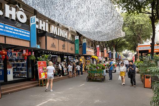 City book street, Ho Chi Minh City, Vietnam