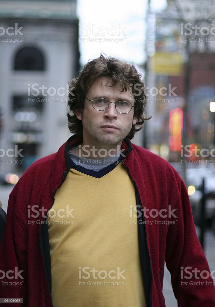 City boy royalty-free stock photo