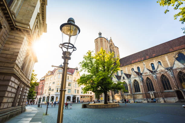 City Braunschweig stock photo