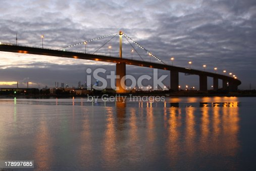 West gate bridge to the city of Melbourne.Want some more Urban or Sky images: