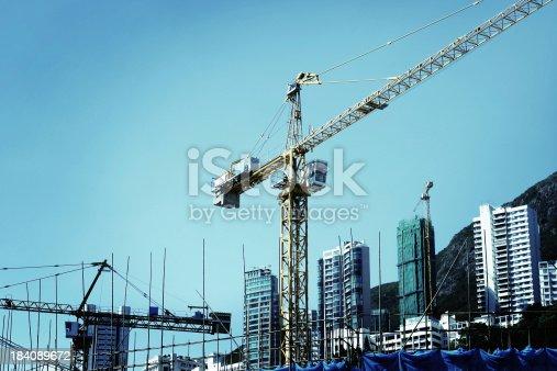 Construction crane at work.Similar images -