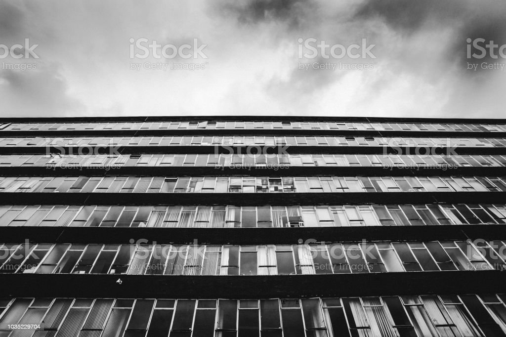 City building - Birmingham, UK stock photo