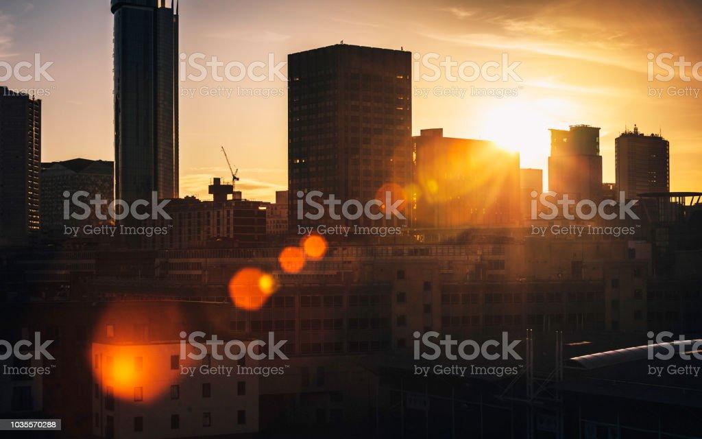 City buildings - Birmingham, UK stock photo
