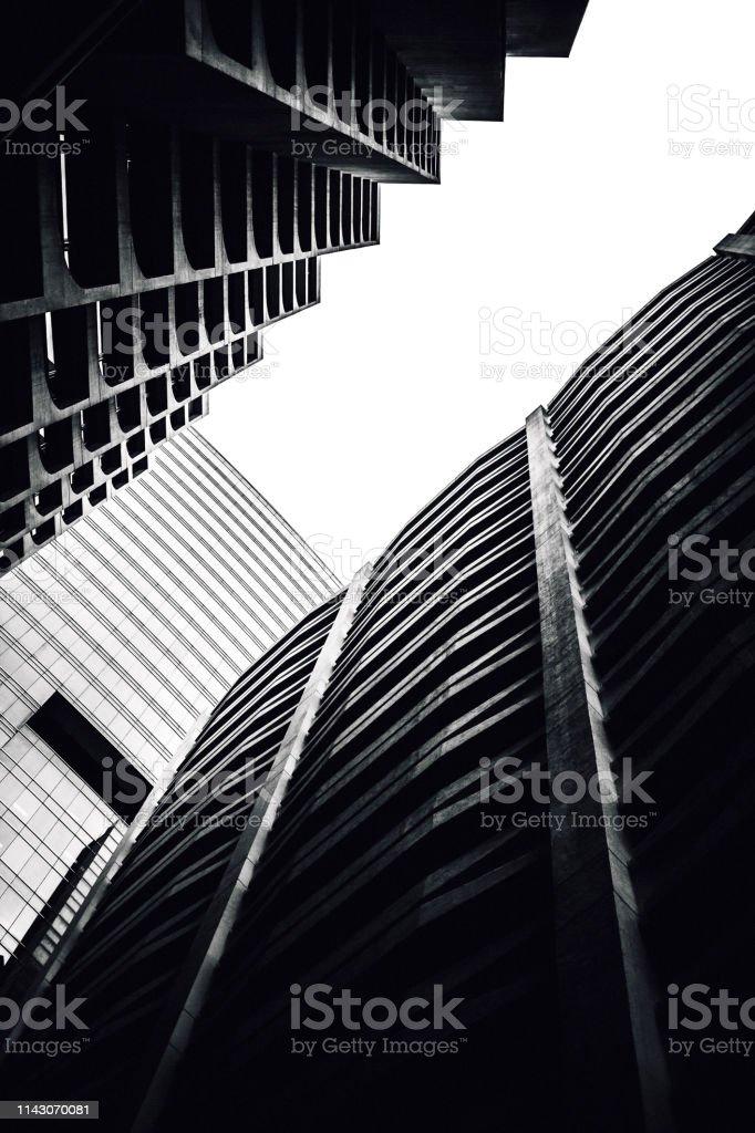 City buildings - Hong Kong stock photo
