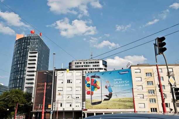 geschäftsviertel - bratislava hotel stock-fotos und bilder