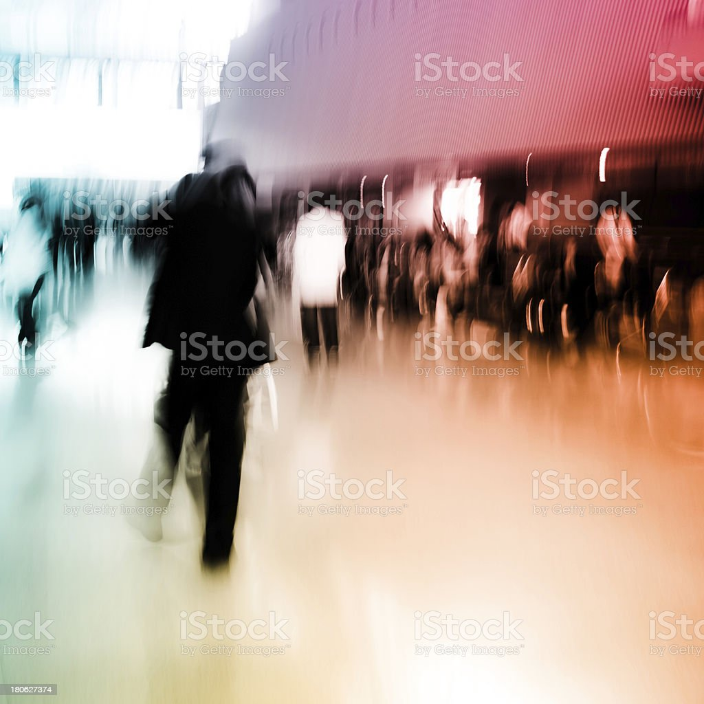 city business people crowd royalty-free stock photo