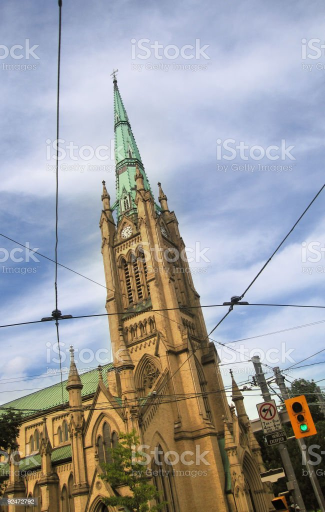 City Cathedral royalty-free stock photo