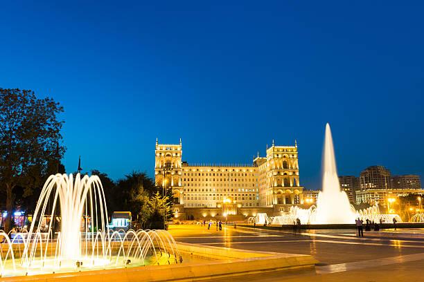 City Center of Baku stock photo