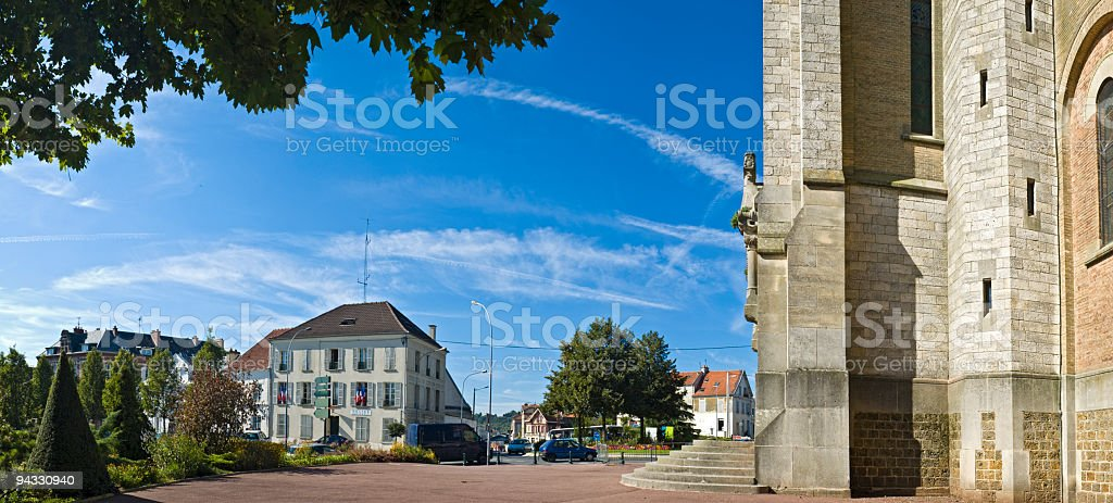 Centre ville royalty-free stock photo