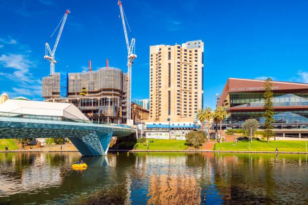 Skyline des Stadtzentrums mit neuem SkyCity Casino – Foto