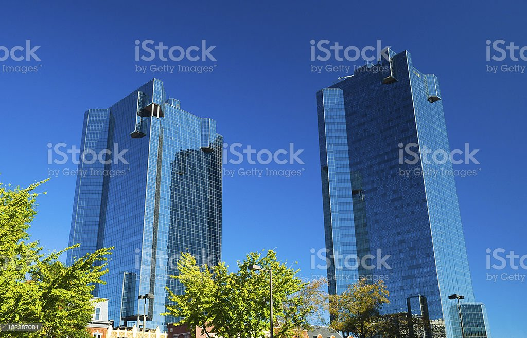 City Centers Tower Complex stock photo