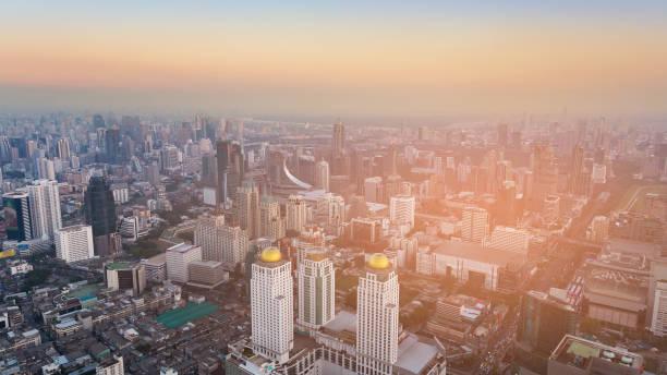 曼谷城市中心商業區圖像檔