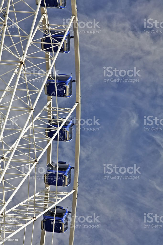 City Centre Ferris Wheel-See lightbox below for other examples. royalty-free stock photo