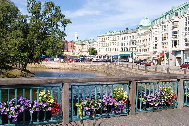 City centre, Gothenburg stock photo