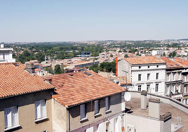 Vue sur le Centre-ville, en France - Photo