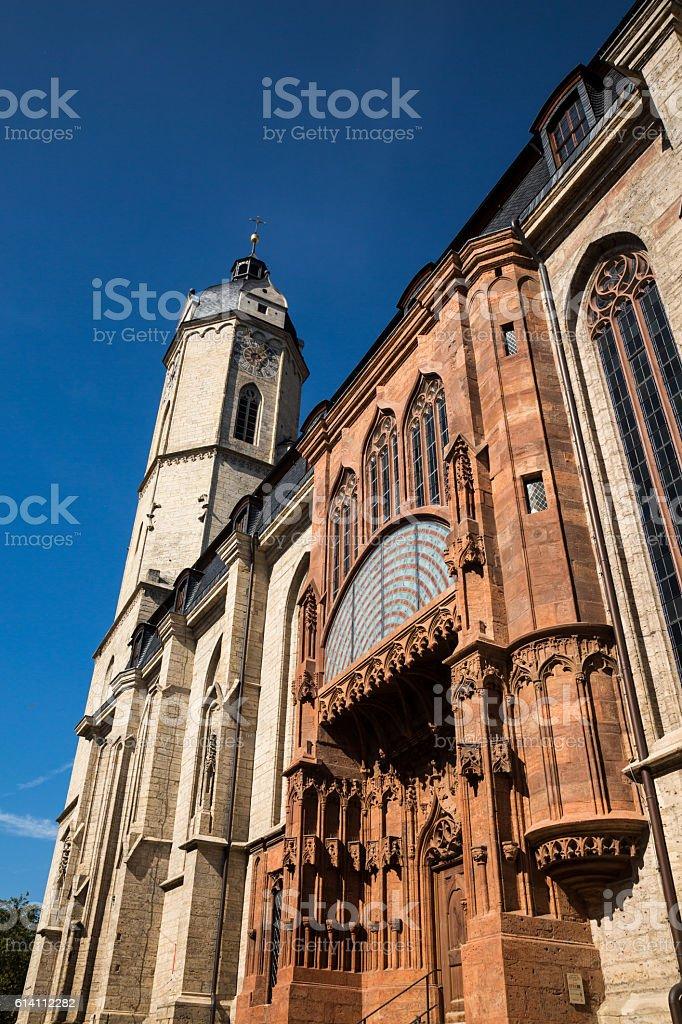 City Church Jena stock photo