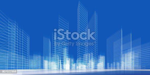 849191980 istock photo City concept 3d 807022958
