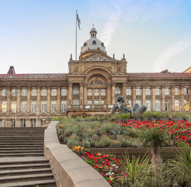 City Council in Birmingham stock photo