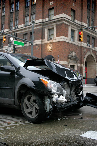 City Crash stock photo