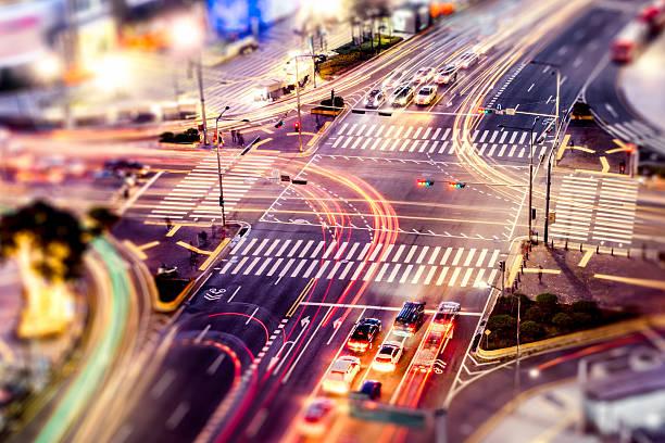 City Crossroads ストックフォト