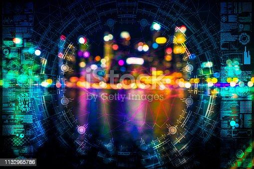 istock AI city defocused idea singapore 1132965786