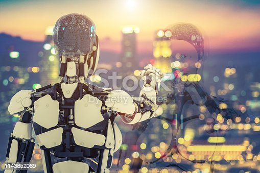832169838istockphoto AI city defocused robot 1143852069