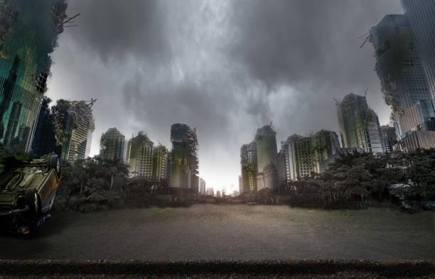 戦争で破壊された都市 - 遺跡 ストックフォトと画像