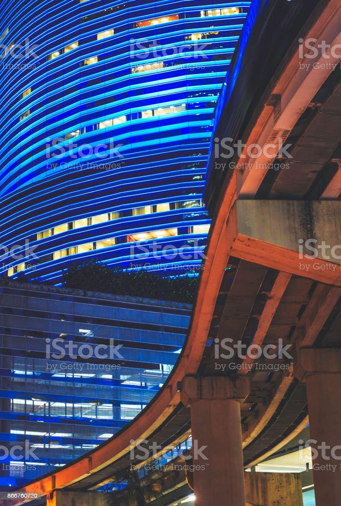 City Detail - Downtown Miami stock photo