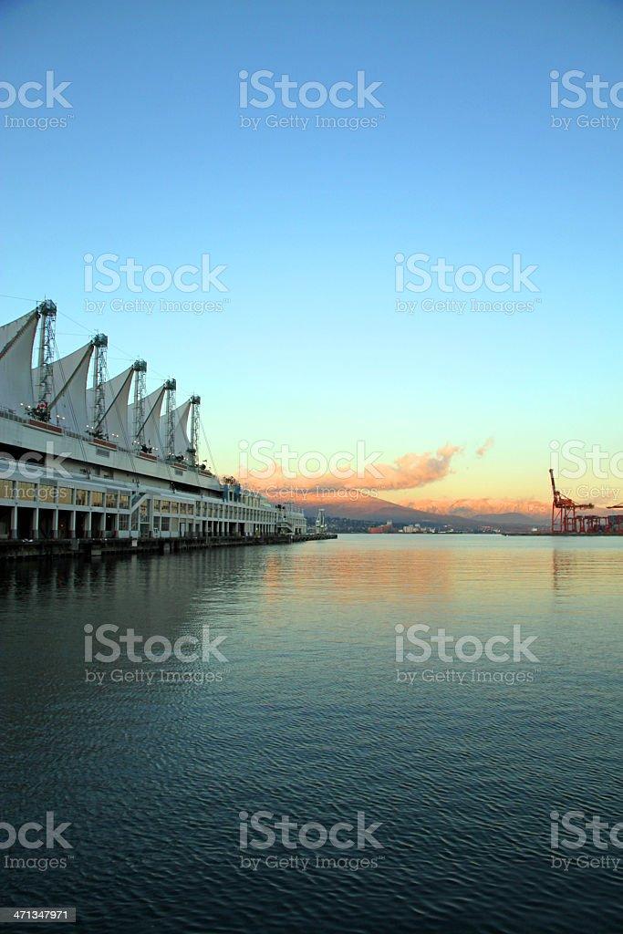 City Docks royalty-free stock photo