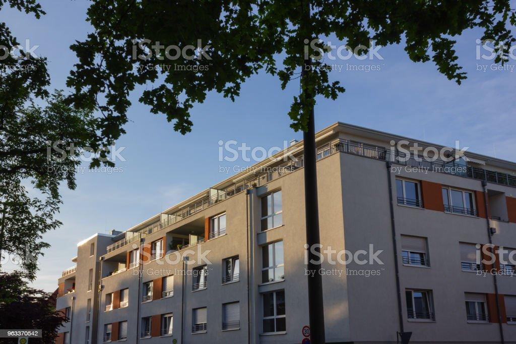 city facades architecture - Zbiór zdjęć royalty-free (Architektura)