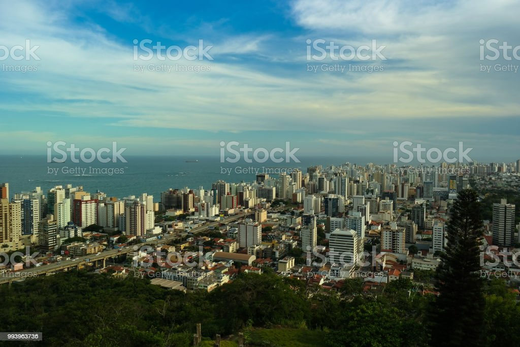 City from above - Cityscape stock photo
