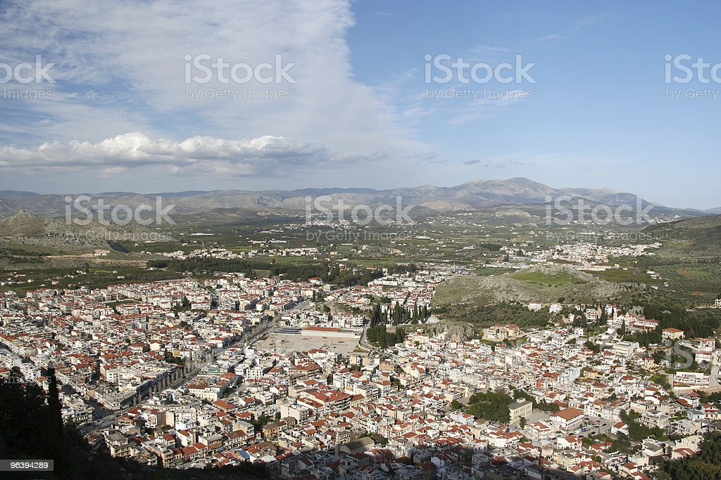 City From Above - Royalty-free Aerial View Stock Photo