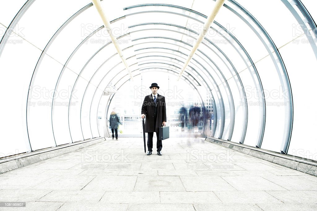city gent: contrasts and contradictions royalty-free stock photo