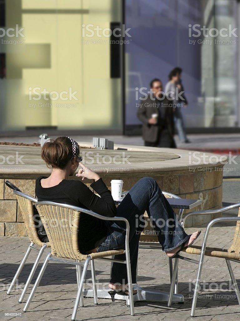 City girl royalty-free stock photo